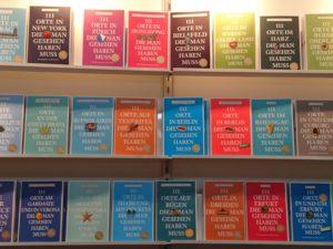 Leipziger Buchmesse: Bücherregal