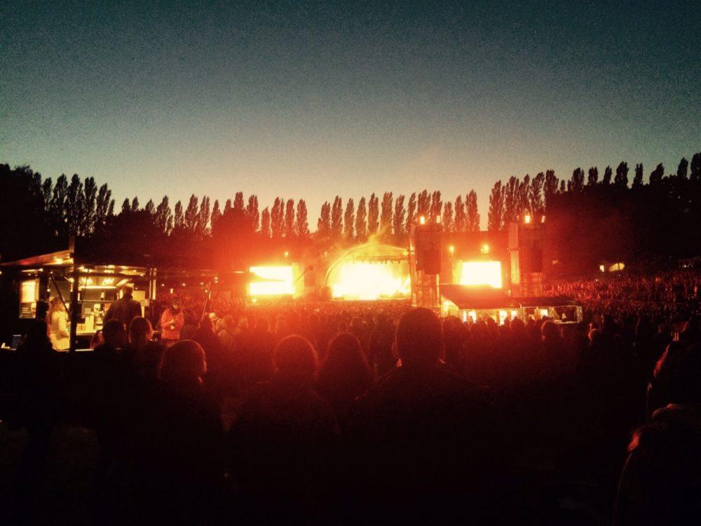 Sommer, Nächte, Open-Air-Konzerte