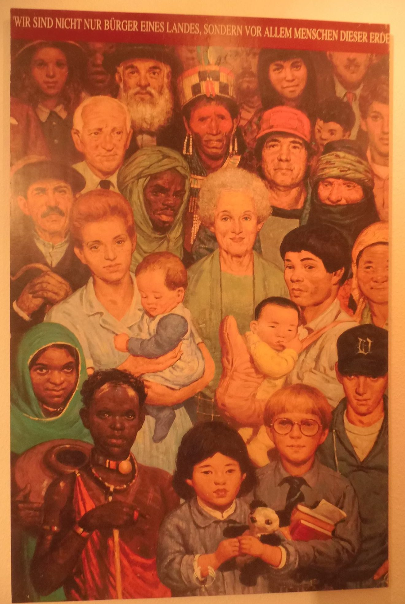 Plakat Erdenbürger- Gastbeitrag von Horst Weitner