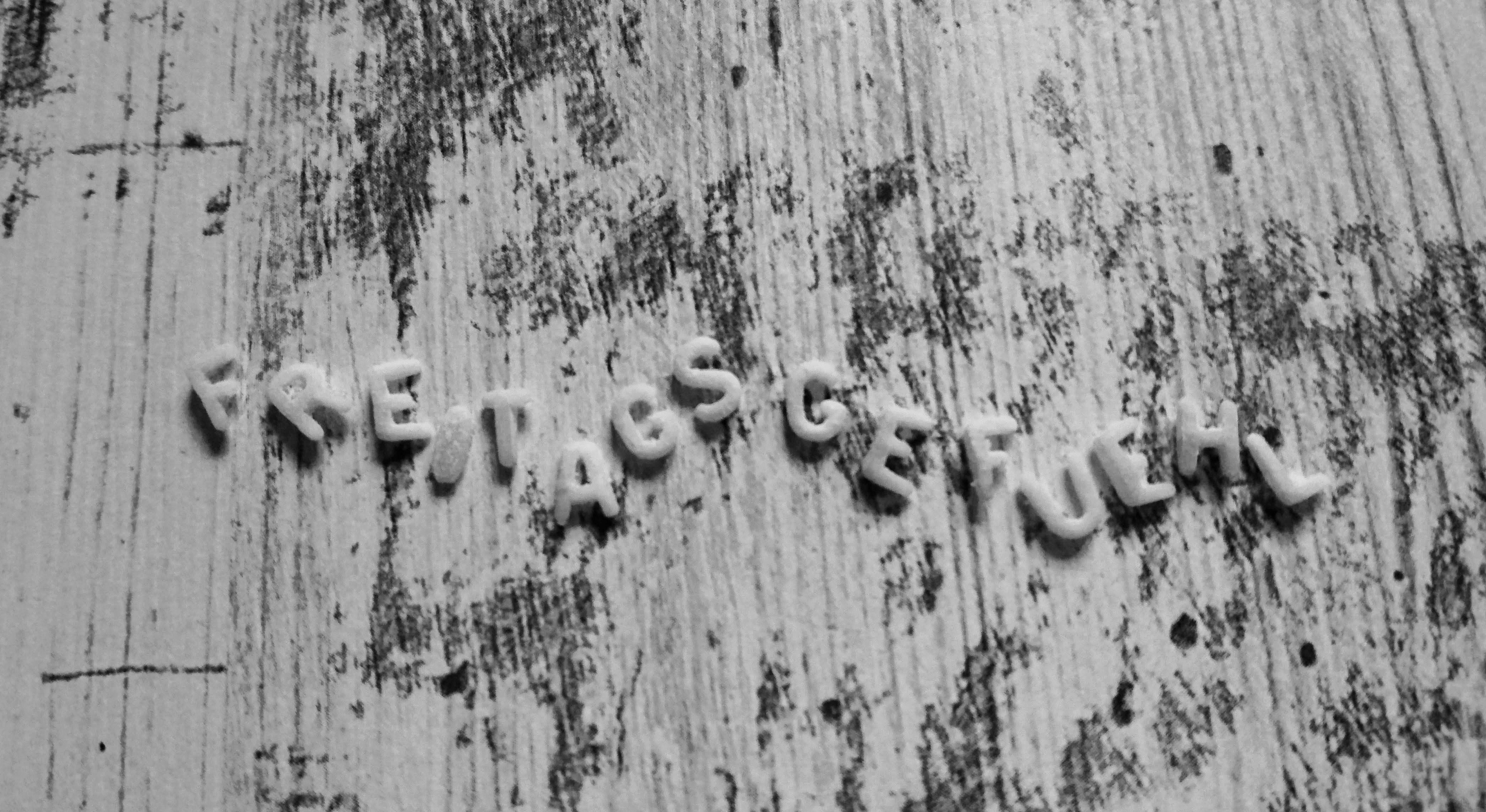 Wortneuschöpfung aus Buchstabensalat
